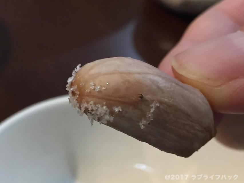 茹で落花生 トリュフ塩