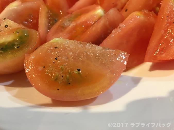 トマト オリーブオイル トリュフ塩