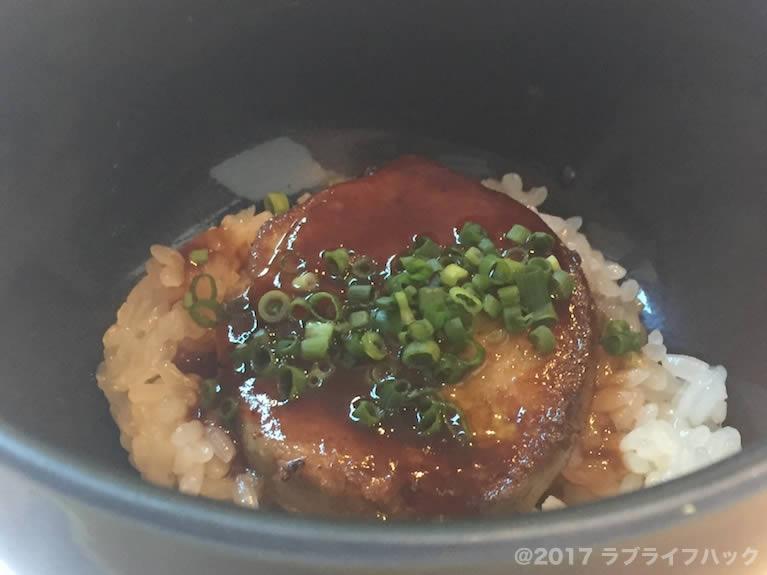 シノワ フォアグラ丼