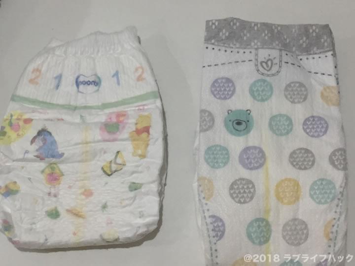 赤ちゃんのオムツのサイズ