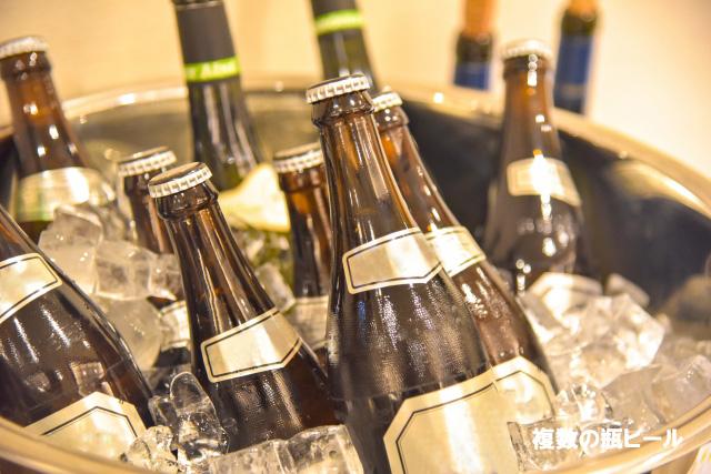 瓶ビール複数